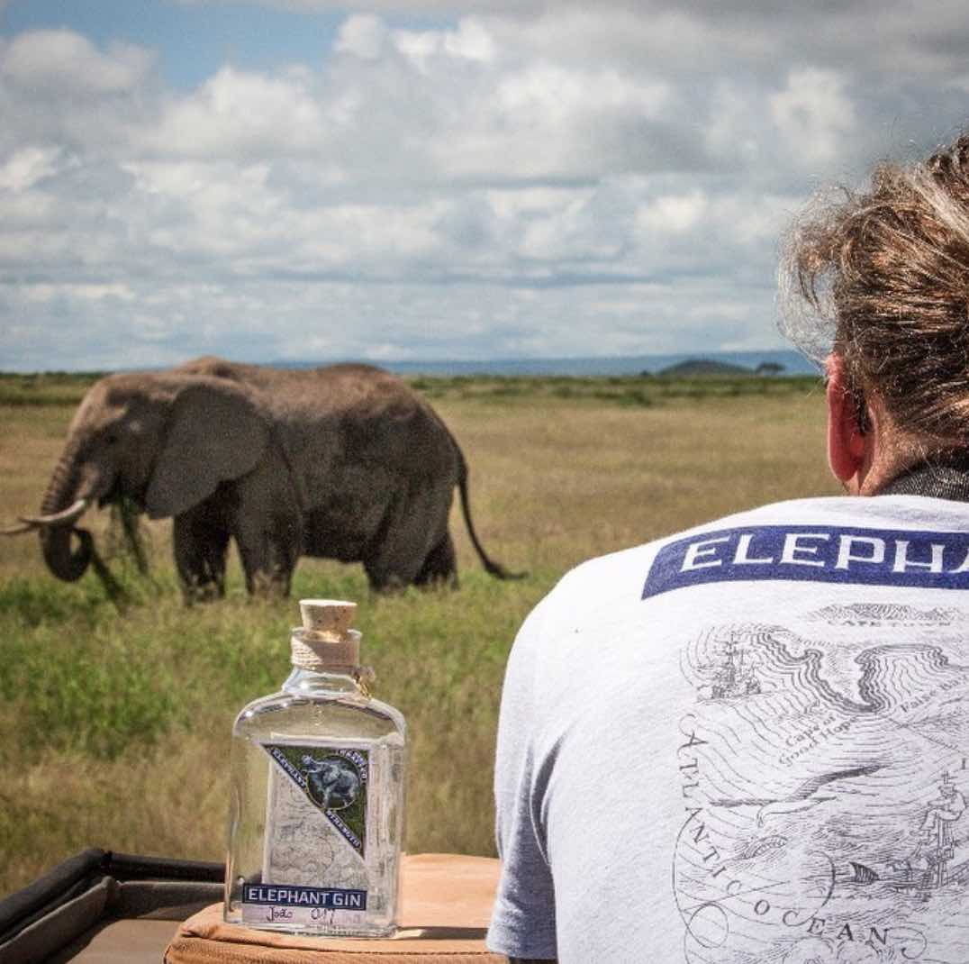 Elephant Gin handcrafted Dry Gin positive luxury Africa foundations