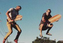 goose boards upcycled handmade wooden cruiser skateboard