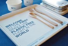 first plastic-free flight Hi Fly airline single use waste