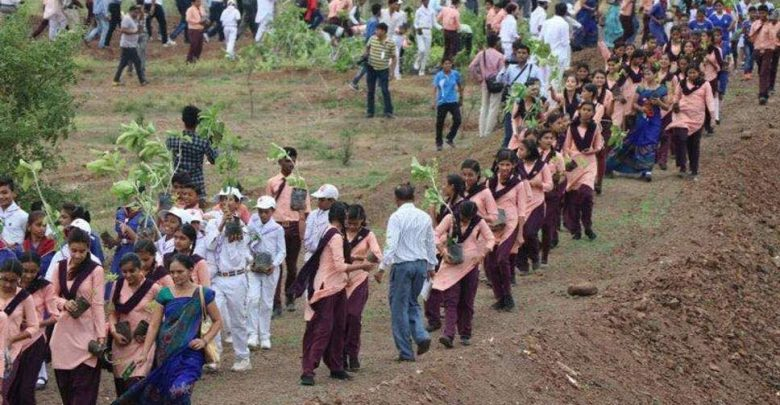 madhya pradesh india plants 66 million trees record breaking environmental campaign