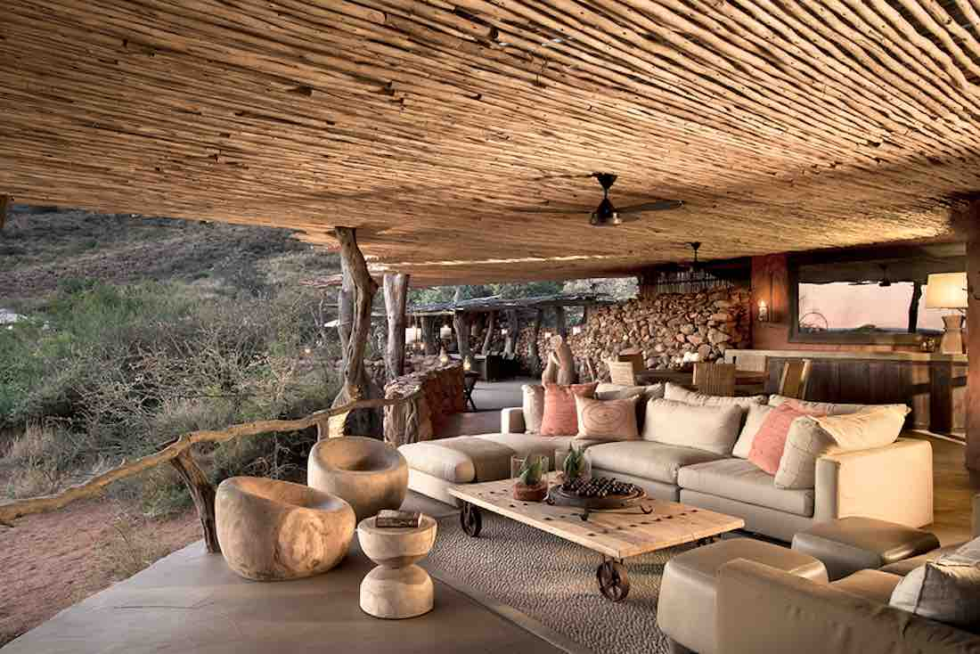 best eco-lodge africa safari Tarkuni Lodge Tswalu Kalahari