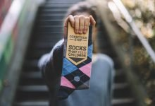 Photo of Conscious Steps fair trade giving back organic socks