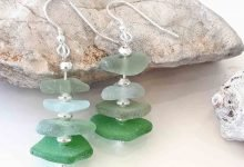 Photo of Upcycled seaglass jewellery for mermaids
