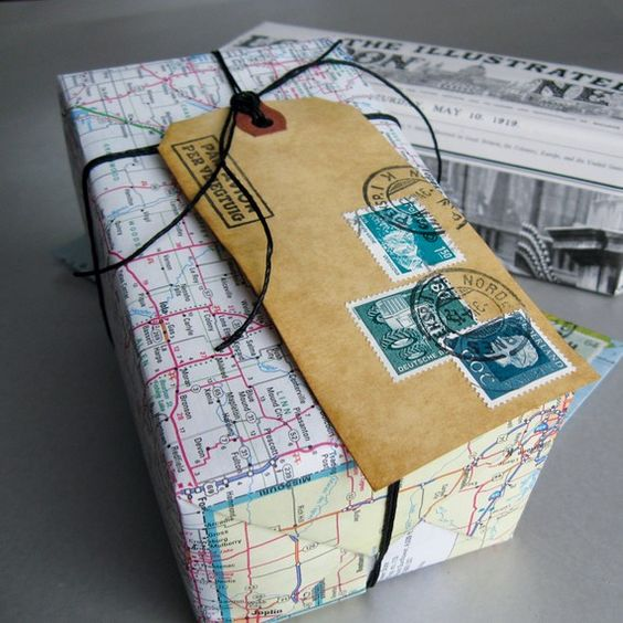 13 DIY low cost ideas using upcycled gift wrapping materials