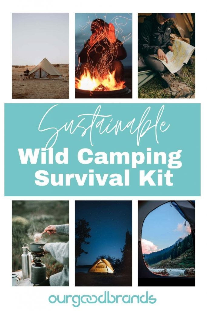 Your sustainable wild camping survival kit [Ultimate Guide]