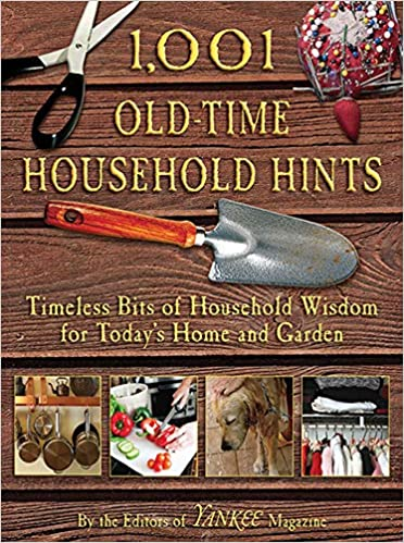 book sustainability 1,001 Old Time Household Hints by David Toht